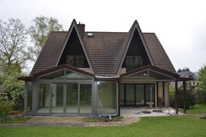 Das Erdgeschoss dieses Wohnhauses wurde auf 60 m² mit ...