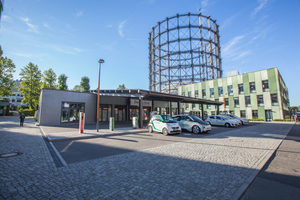 """<irspacing style=""""letter-spacing: -0.015em;"""">Am EUREF-Campus, dem historischen Gasometer-Gelände in Berlin, wird unter der Prämisse eines CO<sub>2</sub>-neutralen Gesamtbetriebs ein Zentrum der Energiewende geschaffen –</irspacing><irspacing style=""""letter-spacing: -0.015em;""""> mit Ideen und Produkten von Schneider Electric.</irspacing>"""