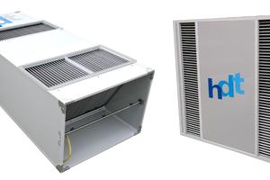 Luft/-/Luft-Wärmetauscher: sehr hohe Volumenströme bei geringem Stromverbrauch und sehr niedrigen Gegendrücken