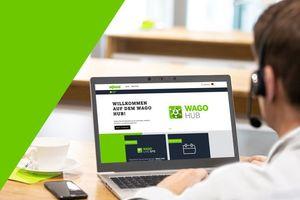 """Mit der """"Live SPS"""" startet Wago seine interaktive Eventplattform, den """"Wago Hub""""."""