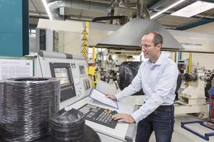 ... Christian Rossbach, Betriebsleiter Roth Werke GmbH, stellten sich den Fragen der tab-Redaktion.