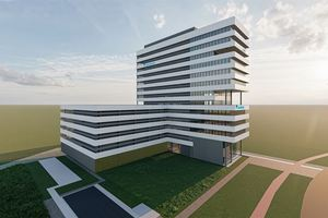 Vorentwurf des Daikin EMEA Development Center (EDC)