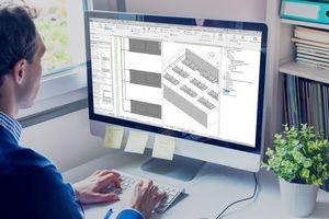 Mit dem BIM-Konfigurator können Heiz- und Kühlsegel einfach und sicher geplant werden.