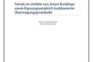 "Whitepaper zu Funkprotokollen in ""Smart Buildings''"
