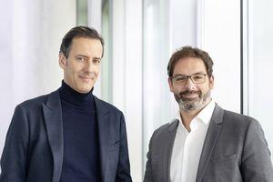 Das Führungs-Duo bei ATP-Frankfurt: Christopher Hammerschmidt (links) und Harald Stieber (rechts)