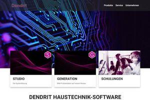 Die neue Dendrit-Homepage ist ab sofort online.
