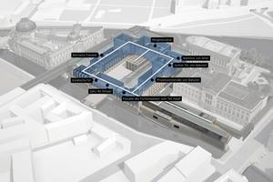 Das auf der Museumsinsel in Berlin gelegene Pergamonmuseum wird umfassend saniert.