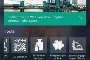 """Das Tool """"Einstellungsoptimierer SiBoost"""" lässt sich direkt über die Wilo-""""Assitent""""-App aufrufen."""