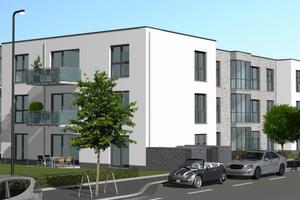 Die Neubauten direkt am Phoenixsee in Dortmund-Hoerde hat das Wohnungsunternehmen Dogewo21 ausschließlich für ältere Menschen und Menschen mit Behinderung errichtet.