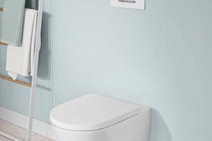 """Die WC-Spültechnologie """"TwistFlush"""" sorgt für eine bessere Toilettenhygiene."""