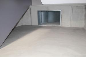 Einblasstelle Zuluft im Untergeschoss