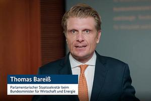 Thomas Bareiß MdB, Parlamentarischer Staatssekretär beim Bundeswirtschaftsminister, sprach zur Eröffnung des TGA-Kongresses ein Grußwort.<br />