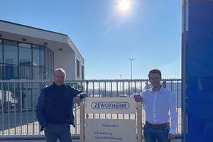 Andreas Ziegler (links) und Matthias Adams sind die Geschäftsführer der neuen ZW Service & Montage GmbH.