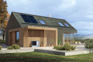 Die Wärmepumpe kann genau dann arbeiten und den Wärmespeicher füllen, wenn viel Solarstrom vom Dach kommt oder der Wind in Deutschland stark weht und viel Windstrom im Netz zur Verfügung steht.<br />