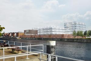 Der Entwurf für den Geomar-Neubau stammt von Staab Architekten, Berlin.