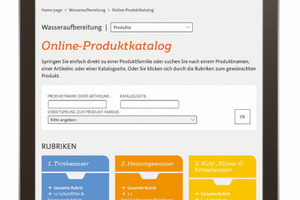 Die Online-Variante des Produktkatalogs bietet noch mehr Hintergrundinformationen.