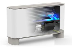 Gebläsekonvektoren mit einer photokatalytischen Vorrichtung zur Verbesserung der Lufthygiene