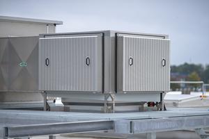 """Der """"CoolStream-V"""" ist das adiabatische Kühlsystem von Colt als Teil der """"Tristar""""-Anlage."""