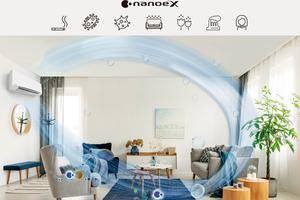 """Das Luftreinigungssystem """"nanoe X"""" ist in der zweiten Generation verfügbar und ...<br />"""