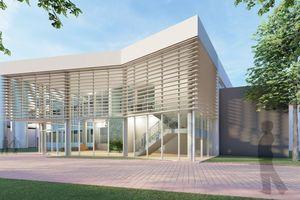 Der Ausstellungsbereich ist Anlaufpunkt für Werksführungen und Gäste.