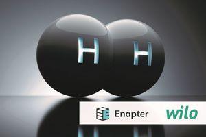 Wilo und Enapter haben eine Absichtserklärung für die Zusammenarbeit in Projekten zum Aufbau einer Infrastruktur für Erzeugung und Transport von Wasserstoff unterzeichnet.