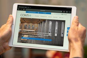 Conti+ bietet einen neuen Internetauftritt.