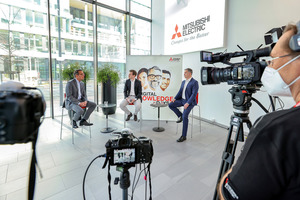 """Mitsubishi Electric zieht ein positives Fazit der ersten """"Digital Knowledge Days"""". Die Veranstaltung wird am 4. und 5. Mai 2021 live wiederholt."""