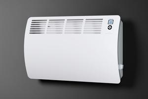 Konvektoren geben wie konventionelle Heizkörper aufsteigende Wärme ab.