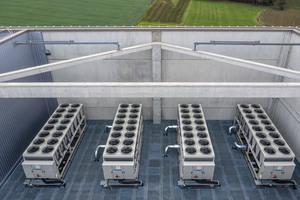 Auf dem Dach der CI Factory befinden sich nicht nur die erwähnte Photovoltaikanlage, sondern auch vier speziell für eine ...