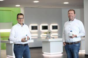 Klaus Böhmer (links) und Dennis Dusny sind Geschäftsführer der neu gegründeten Wago Electronics GmbH.