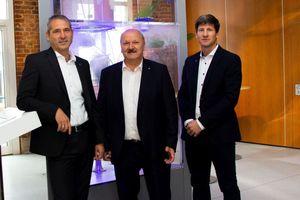 Die Geschäftsführung von Trox X-Fans besteht nun aus (v.l.n.r.) Udo Jung, Hartmut Brandau und Christian Söllner