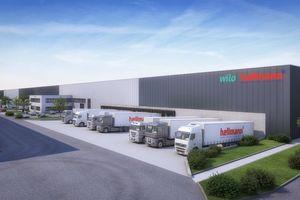 Der Neue Logistikstandort in Werne garantiert Wilo eine optimale Anbindung an die europäischen Produktionsstätten und globalen Absatzmärkte.