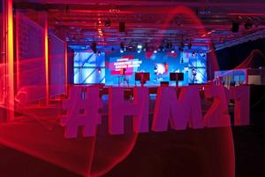Die Hannover Messe 2021 fand als digitale Veranstaltung statt und soll 2022 als hybride Messe durchgeführt werden.