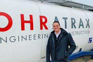 Ohratrax-Betriebsleiter Sebastian Kieschke