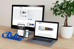 Der neue Roller-Webauftritt ist für alle digitalen Endgeräten optimiert.