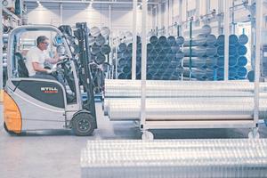 24 Stunden Lieferzeit für alle Baustellen in Deutschland lautet der Anspruch an das eigene Unternehmen.