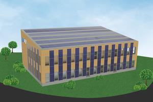 Das zukünftige Firmengebäude von my-PV im oberösterreichischen Sierning.