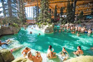 """Die Wasserwelt """"Rulantica"""" wurde binnen weniger Wochen zu einer hoch frequentierten, neuen Attraktion des Europa-Park."""