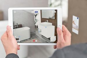 Die Augmented Reality nutzen Hersteller für die Präsentation und Konfiguration ihrer Produkte in der individuellen Umgebung des Kunden.