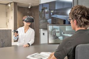 In der Sanitärbranche sind neben Showrooms VR-Brillen schon seit vielen Jahren als Akquisitions- und Präsentationshilfsmittel im Einsatz.