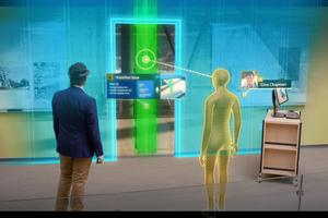 Über Mixed-Reality-Systeme können mehrere Projektteams von unterschiedlichen Standorten aus Projekte virtuell begutachten und gemeinsam besprechen.