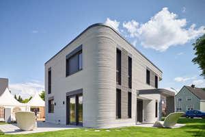 Nach der Fertigstellung des Wohnhauses in Beckum (Foto) druckt Peri ein Mehrfamilienhaus im bayerischen Wallenhausen.