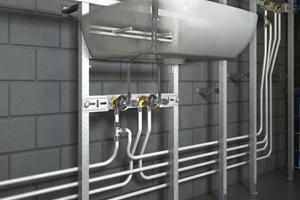 Das Roth-Trinkwasser-Installationssystem ist für alle Trinkwasserqualitäten einsetzbar.