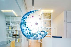 Auf der Fachmesse Indoor-Air präsentieren die Aussteller ihre Produkte rund um die Lufthygiene, ...