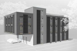 i+RB Industrie- & Gewerbebau errichtet den Neubau von rmSolar nach Plänen des Konstanzer Büros D'Aloisio Architekten.