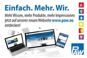 PAW setzt auf eine neue Homepage – im Fokus steht ein intensiverer Informationsgehalt.