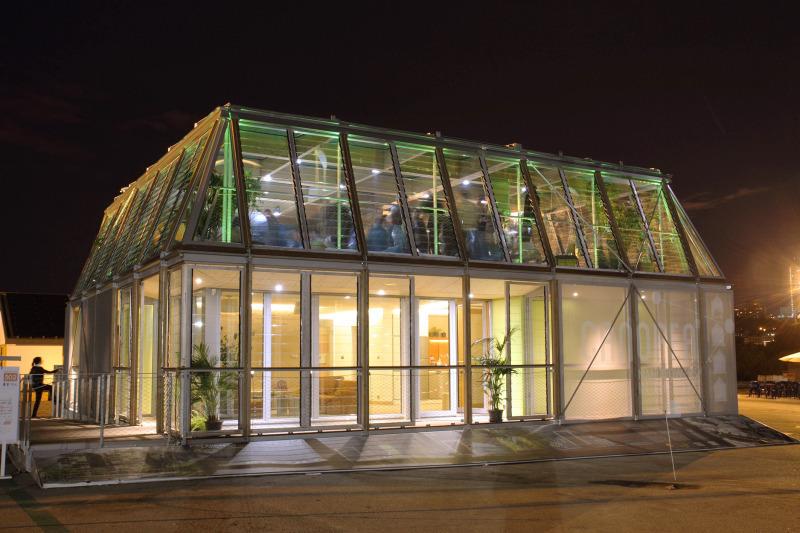 Das projekt canopea aus frankreich ist das siegerprojekt des solar decathlon europe 2012