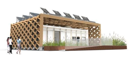 Das para eco house der tongji universität in shanghai