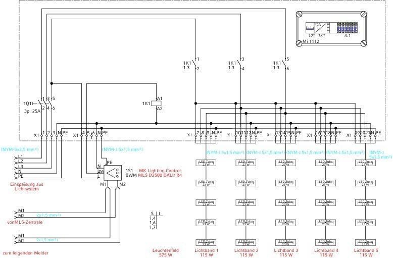 tab themen elektro licht sicherheit fachartikel erneuerung einer beleuchtungsanlage. Black Bedroom Furniture Sets. Home Design Ideas