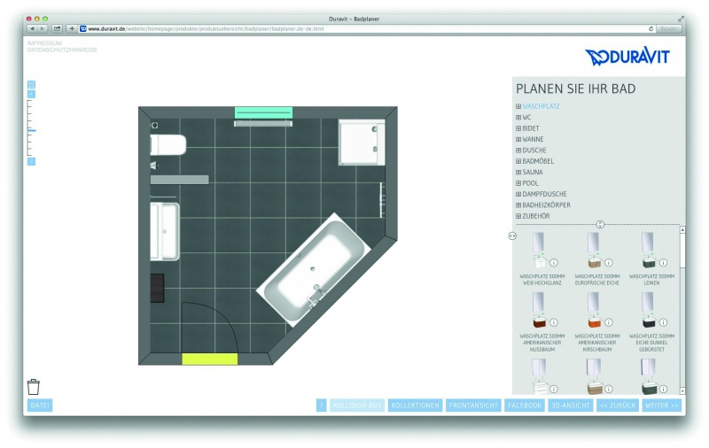 tab service download center programme tools apps designb der von duravit online planen. Black Bedroom Furniture Sets. Home Design Ideas